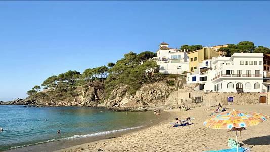 Temperaturas significativamente altas en buena parte del interior peninsular y Baleares
