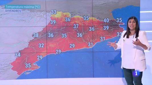 Els dos dies més calorosos d'aquest estiu