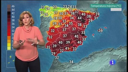 El Tiempo en la Comunitat Valenciana - 22/07/21