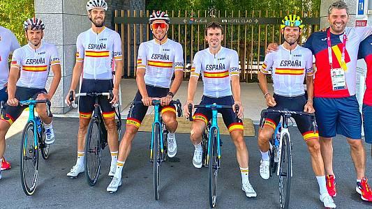 Así se entrena el equipo español de ciclismo