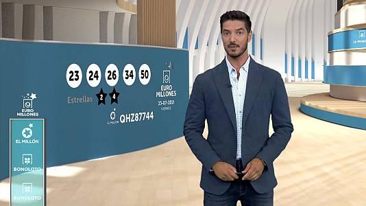 Sorteo de la Bonoloto y Euromillones del 23/07/2021