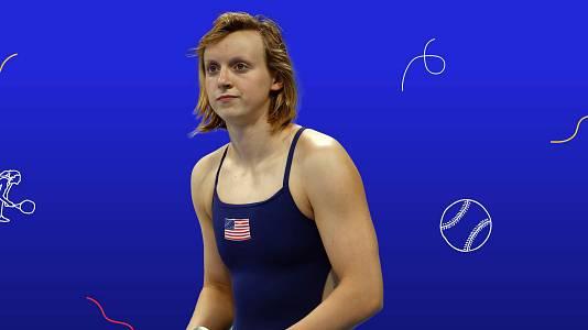 Katie Ledecky, la nadadora de las grandes distancias