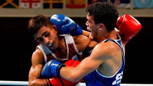 Boxeo: R. N. Quiroga vs Gabriel Escobar