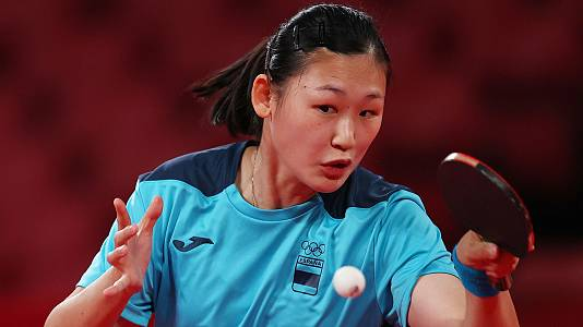 Tenis de mesa: María Xiao y Tianwei Feng