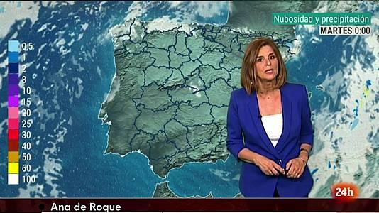 Suben las temperaturas de día con nubes en el norte 27/07/2021