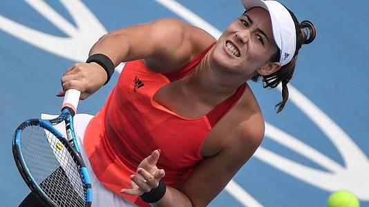 Tenis: Garbiñe Muguruza - A. Van Uytvanck