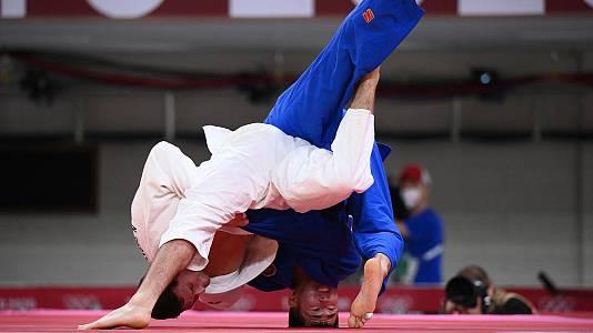 Judo: -90kg : N. Sherazadishvili - G. Altanbagana