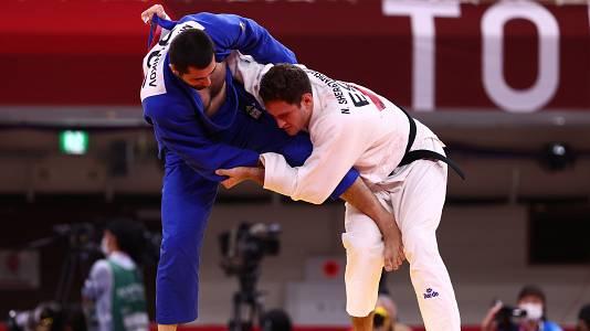 Judo: -90kg: Nikoloz Sherazadishvili - Mikhail Igolnikov