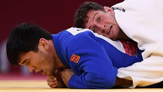 Judo: -90kg Masculino: N. Sherazadishvili - D. Bobonov