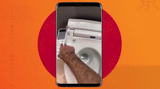 Álex Abrines nos enseña el WC de la Villa Olímpica