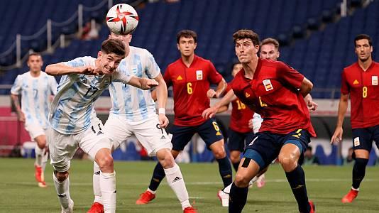 Fútbol: España-Argentina