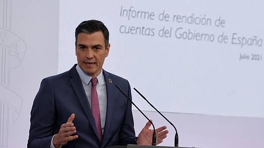 Comparecencia de Pedro Sánchez: balance político del año
