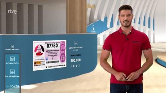 Sorteo de la Lotería Nacional del 31/07/2021