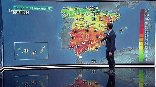 Temperaturas significativamente altas en la Costa del Sol. Viento con rachas muy fuertes en Canarias y litoral de Almería