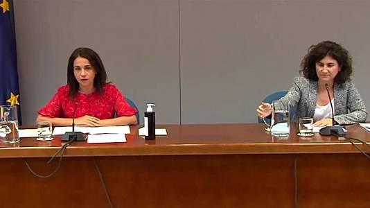 Comparecencia de Mª José Sierra y Silvia Calzón - 02/08/21