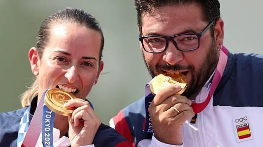 Regresan a España los campeones olímpicos de tiro