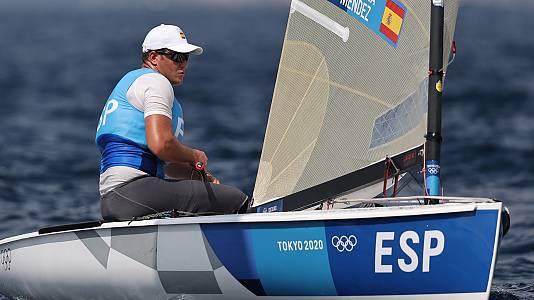 Vela masculino: Medal Race Finn
