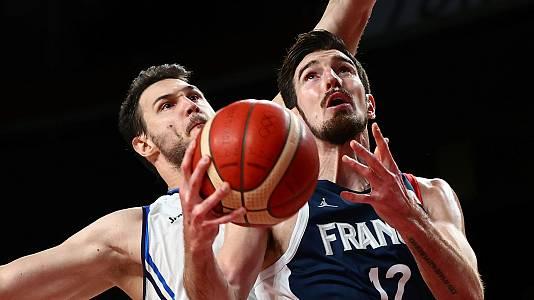 Baloncesto. Cuartos: Italia - Francia
