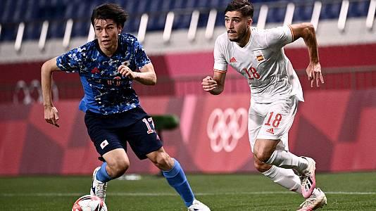 Fútbol. Semifinal: España - Japón