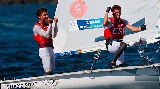 Jordi Xammar y Nicolás Rodríguez, bronce en 470 Vela