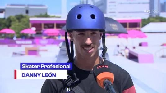 "Danny León: ""Me voy orgulloso a casa"""