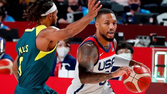 Baloncesto. Semifinal: EEUU - Australia