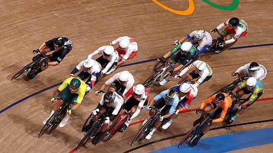 Ciclismo en pista: Ómnium prueba 2 Tiempo