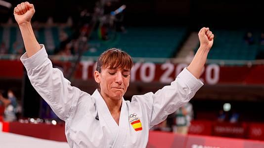Sandra Sánchez conquista el oro en kárate kata
