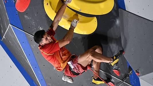 Alberto Ginés gana la medalla de oro en escalada