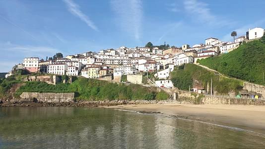 Intervalos de viento fuerte en el litoral de Asturias y del norte de Galicia