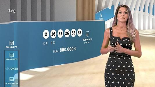 Sorteo de la Bonoloto y Euromillones del 06/08/2021