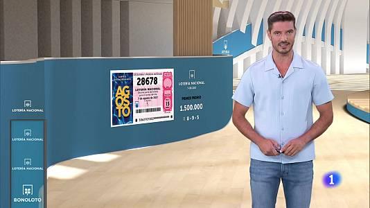 Sorteo de la Lotería Nacional del 07/08/2021