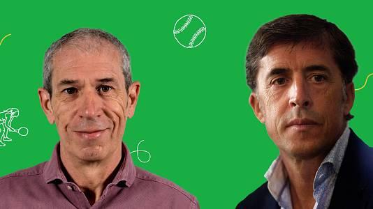 Pedro Delgado y Carlos de Andrés analizan ciclismo en ruta