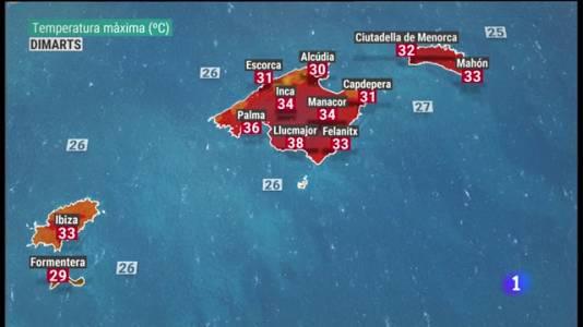 El temps a les Illes Balears - 09/08/21