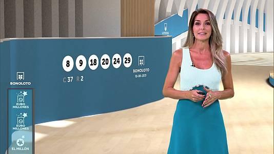 Sorteo de la Bonoloto y Euromillones del 10/08/2021
