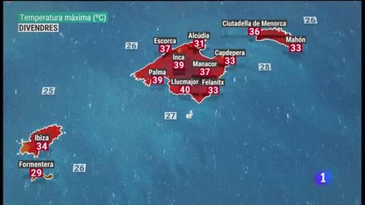 El temps a les Illes Balears - 12/08/21
