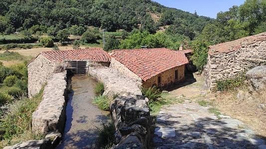 El río Corneja y sus ocho kilómentros de molinos