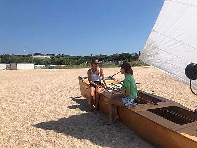 Gemma Mengual recuerda sus veranos en Canet de Mar