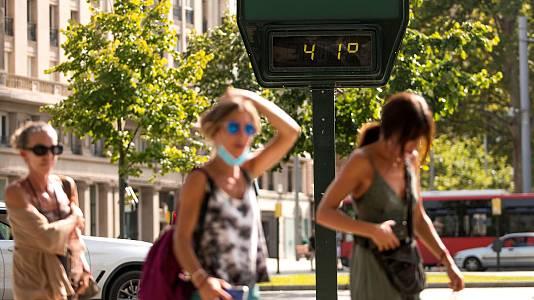 El calor extremo sigue abrasando a casi toda España