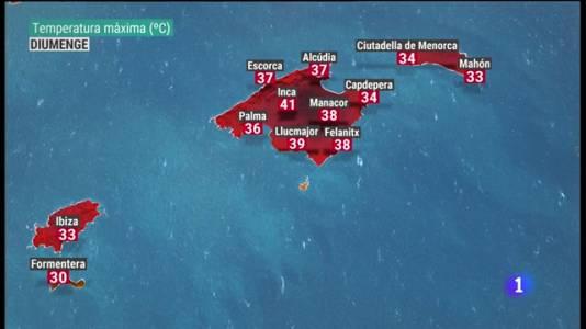 El temps a les Illes Balears - 13/08/21