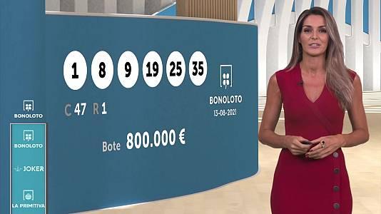Sorteo de la Bonoloto y Euromillones del 13/08/2021