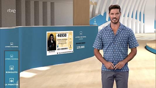 Sorteo de la Lotería Nacional del 14/08/2021