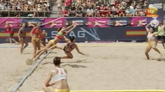 Balonmano Playa: Partido de las estrellas femenino