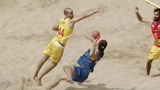 Balonmano Playa: Partido de las estrellas masculino