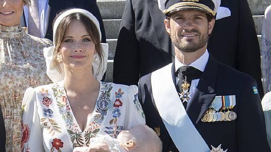 Sofía de Suecia y Carlos Felipe bautizan a su hijo Julian