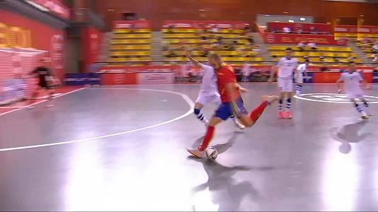 Preparación para el Campeonato del Mundo: España - Uzbekistá