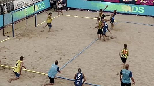 Campeonato de España Balonmano playa: Final masulina