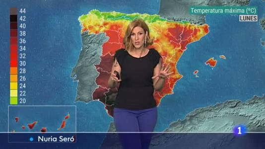El tiempo en Andalucía - 16/08/2021