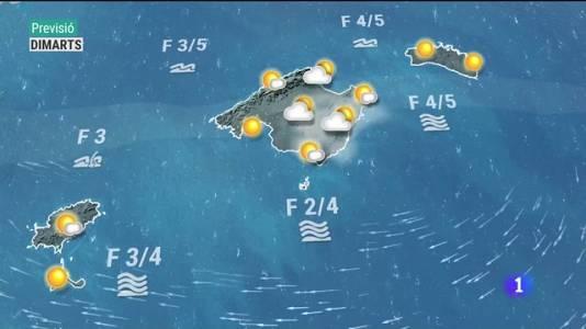 El temps a les Illes Balears - 16/08/21