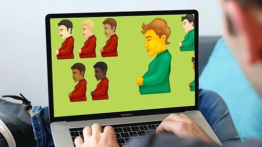 Hombres embarazados: así son los nuevos emojis